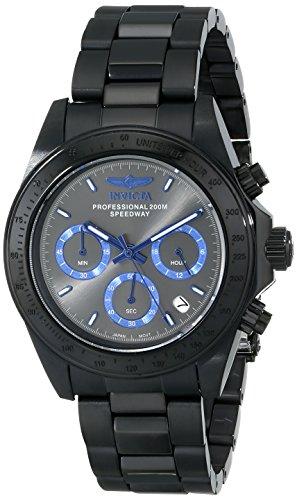 Invicta Men's 17313SYB Speedway Analog Display Japanese Quartz Black Watch