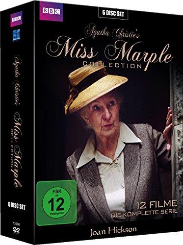 Miss Marple - Die komplette Serie (12 Filme Gesamtedition im 6 Disc Digi-Pack) [6 DVDs]