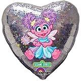 18 in Sesame Street Abby Cadabby Mylar Holographic Birthday Party Balloon