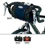 モンベル(mont‐bell) サイクルフロントバッグ 1130110 ブラック/ガンメタル BKGM