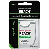Reach Cleanpaste Dental Floss, Icy Mint Flavor, 50-Yard Dispensers (Pack of 6) ~ Reach