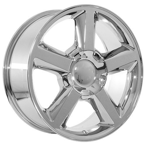 22 Inch Chrome Chevy Tahoe Avalanche Truck Wheels Rims (22 Inch Truck Rims compare prices)