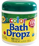 Crayola Bath Dropz 3.59 oz 60 Tablets