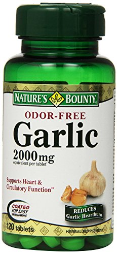 Natures-Bounty-Garlic-2000mg-Odor-Free-120-Tablets