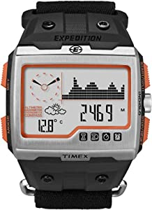 Expedition WS4 Watch Black/Silver 000 by Timex Corporation