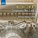 Symphonies Nos 3 & 4 / Overture in C Major