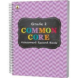 Carson Dellosa CD-104801BN Grade 2 Common Core Assessment Book, MultiPk 3 Each