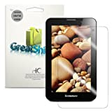 GreatShield Ultra Smooth Anti-Scratch Screen Protector Shield Film for Lenovo IdeaTab A3000 (3 Pack) - Lifetime Replacement Warranty (Crystal Clear HD)