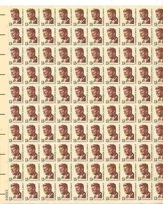John F. Kennedy Sheet of 100 x 13 Cent US Postage Stamps NEW Scot 1287