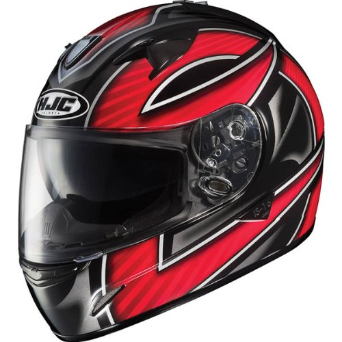 HJC Ramper Men's IS-16 Sports Bike Racing Motorcycle Helmet – MC-1 / X-Large