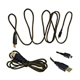 High Speed USB Data Sync Charger Charging Cable For Nintendo 3DS XL / 3DS / DSi / DSi XL