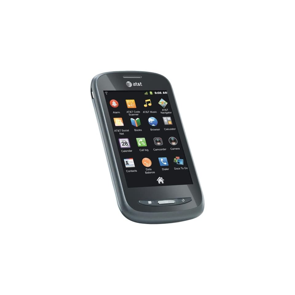 AT&T ZTE Avail Z990 Unlocked GSM Phone with Android 2.3 OS, 5MP Camera, GPS, Wi Fi, Bluetooth and microSD Slot   Black