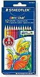 Staedtler - Estuche con 12 lápices de colores surtidos (144NC12)