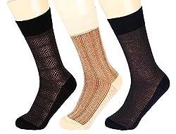 Abracadabra Men's Long Socks (Pack Of 3) (DNCS15015_Multi)
