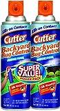 Cutter Backyard Bug Control Outdoor Fogger, Twin Pack, 16-Ounce