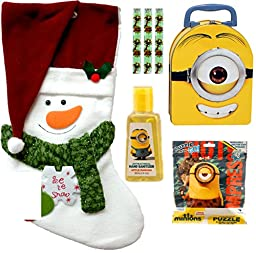 Christmas Despicable Me Minions Gift Set with Candies (7 Pieces)