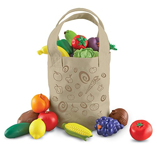 Fresh Picked Fruit And Veggie Tote