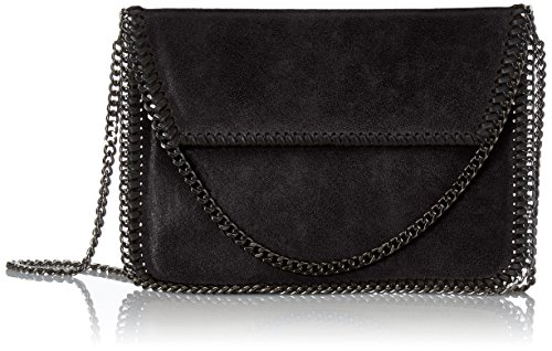 Chicca Borse 10009 Pochette da Giorno, 24 cm, Nero