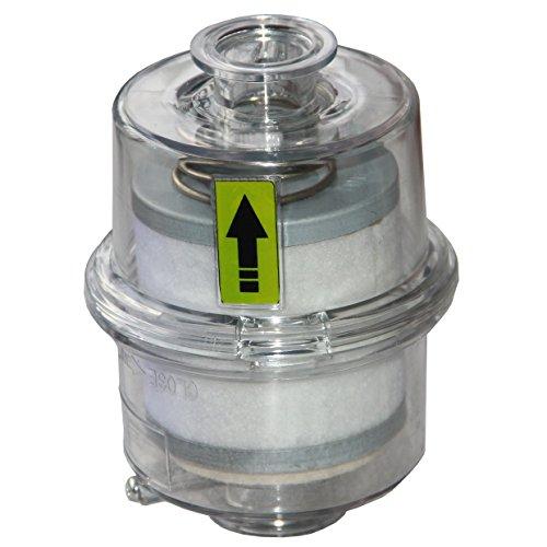 HFS (R) In-Line Vacuum Filter - Oil & Mist Eliminator up to 15 CFM (Oil Mist Filter compare prices)