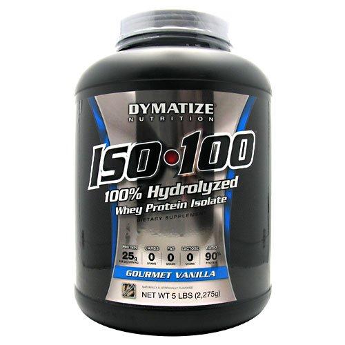 Dymatize Iso-100 Gourmet Vanilla - 5 Lb (2275 G)