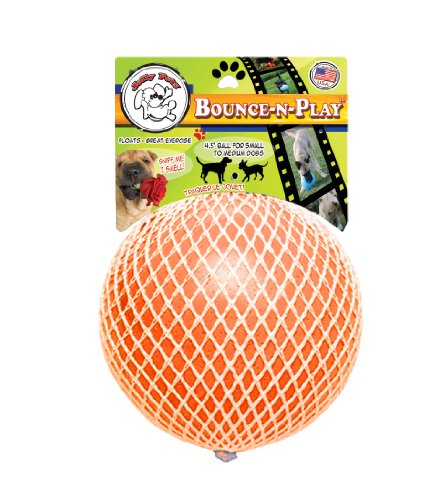 Jolly Pet 4-1 2-Inch Bounce-n-Play Vanilla Scented Vibrant OrangeB0006G56YS : image