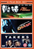 3 Film Box Set: Takers / Crank / The Fast & The Furious [DVD]