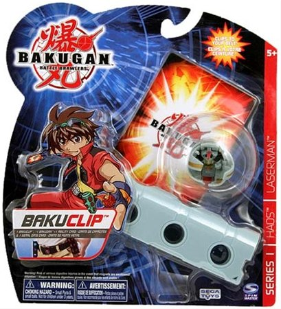 Bakugan Battle Brawlers BakuClip - Series 1 - Haos - Laserman - 1