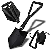"XtremepowerUS 24"" Compact Folding Foldable Shovel Survival Camping Camp Hiking"