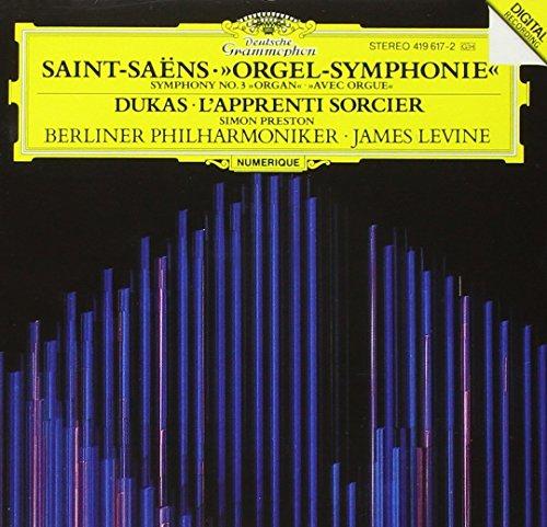"""Saint-Saëns: Sinfonia n. 3 """"avec orgue"""" / Dukas: L'apprenti sorcier"""