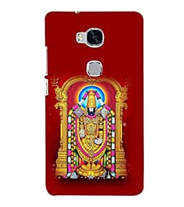 printtech Lord God Balaji Back Case Cover for Huawei Honor 5X :: Huawei Honor X5 :: Huawei GR5