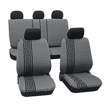 2x Auto Sitzbezüge Sitzbezug Schonbezug Universal Totenkopf Skull Schonbezüge