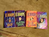 img - for V.C. Andrews Hudson Series 4 Book Set (Rain, Lightning Strikes, Eye of the Storm, The End of the Rainbow, 1-4) book / textbook / text book