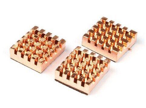 geauxrobot-3pcs-raspberry-pi-copper-cooling-heat-sinks