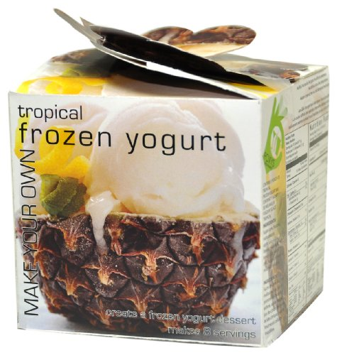 Foxy Gourmet Tropical Make Your Own Frozen Yogurt, 3.17 oz.  Boxes (Pack of 3)