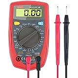 Etekcity Digital Multimeter (DMM) Multi Tester Voltmeter Ammeter Ohmmeter - AC / DC Voltage, DC Current, Resistance, Continuity, Diodes Meter with Backlit LCD