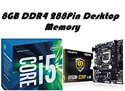 Intel Sixth Generation Core i5 6402P (2.8Ghz) Processor + Gigabyte H110M-S2PH DDR4 LGA1151 HDMI MotherBoard + 8GB DDR4 2133Mhz Memory - Entry Level Combo
