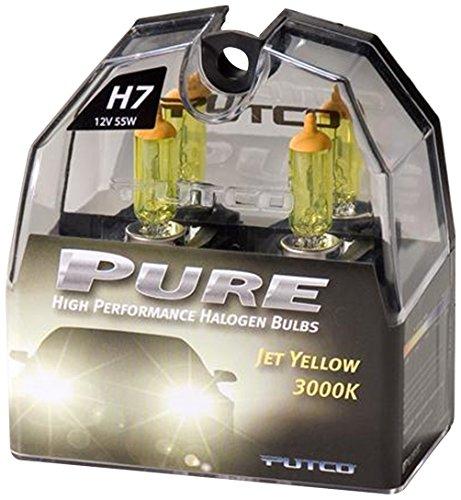 Putco 230007Jy Premium Automotive Lighting Jet Yellow Halogen Headlight Bulb