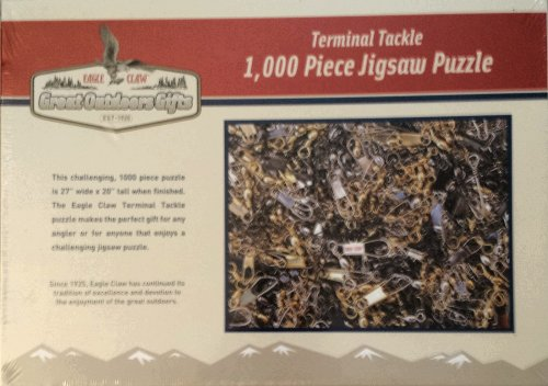 Eagle Claw Terminal Tackle - 1,000 Piece Jigsaw Puzzle