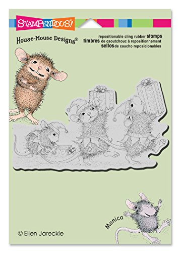 Stampendous HMCP54 House Mouse Cling Rubber Stamp, Elf Gifts (Rubber Stamps House Mouse compare prices)