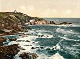 Cornwall, The Lizard Point - English Photochrome - EPC503 Superior Canvas A1 Size
