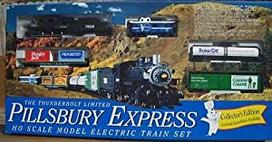 Pillsbury Company Thunderbolt Limited Pillsbury Express Model Electric Train Set (Collector's Edition) at Sears.com