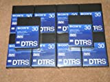 10 x Brand New & Sealed Sony DARS-30 DTRS 30 Minute Digital 8 Track Cassettes