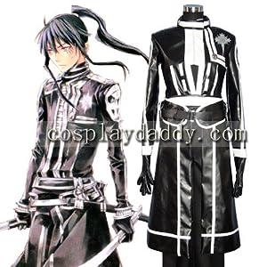 D Gray man Yu Kanda Japanese Anime Cosplay Custume Made Customized Any Size