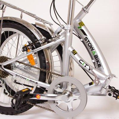 """Stowabike 20"""" Folding City V3 Compact Foldable Bike – 6 Speed Gears"""