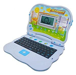 Bilingual Advanced Learning Children Laptop - Color Vary