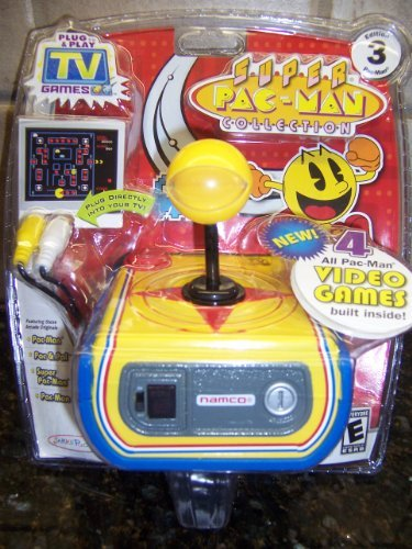 Tv Games Plug And Play : Super pac man collection plug play tv games brand new