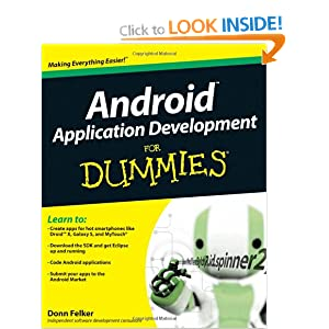 Android Application Development For Dummies (For Dummies (Computers))