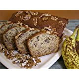 Banana Walnut Loaf Cake 18oz ~ Zelda's Sweet Shoppe