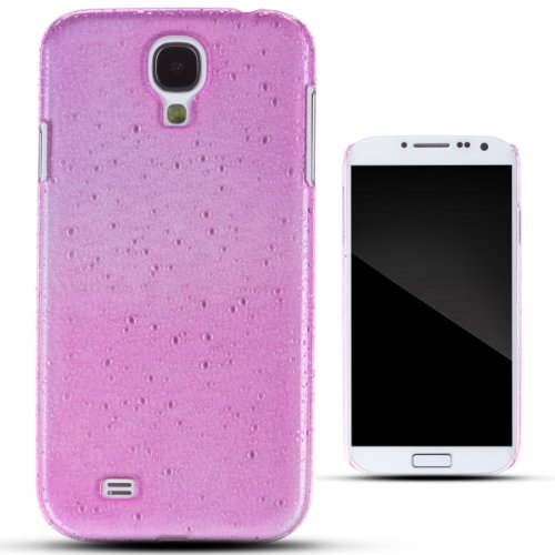 Zooky® Pink Plastic Raindrop Case / Cover / Shell For Samsung Galaxy S4 (I9500)
