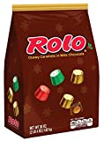 Rolo Holiday Chewy Caramels In Milk Chocolate, 36-Ounce Bag